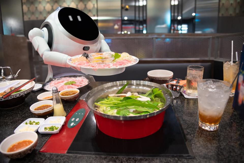 Bon appétit! Robotic restaurants are the future