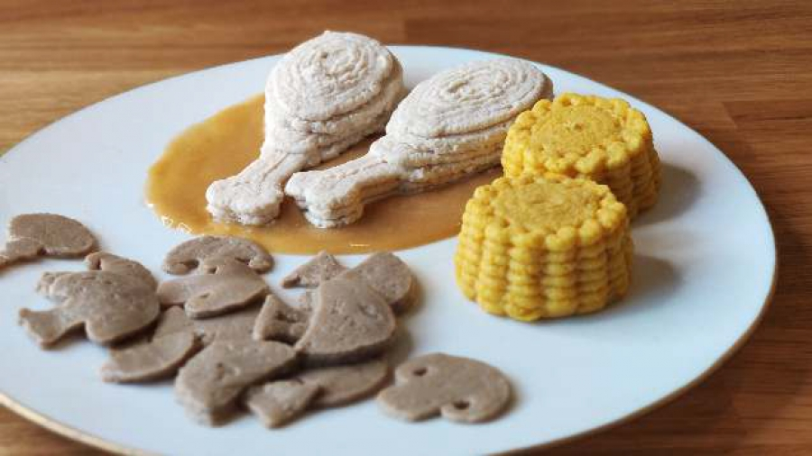 Food 3D Printing: 3D-Printed Food for the Elderly Continues with Natural Machines