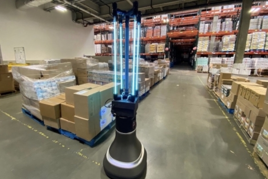 CSAIL robot disinfects Greater Boston Food Bank | MIT News