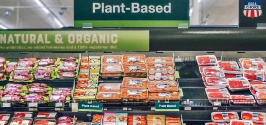 Plant-based products sell 23% better in the meat section, study finds | Grocery Dive