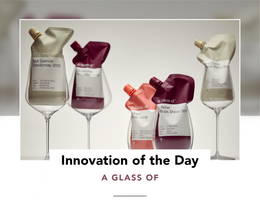 Innovation of the Day | Wine by the glass, in single-serve pouches